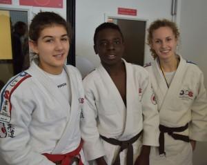 Margaux, Timothée, Julie