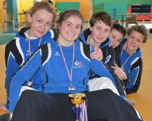 Médaillées et qualifiées !