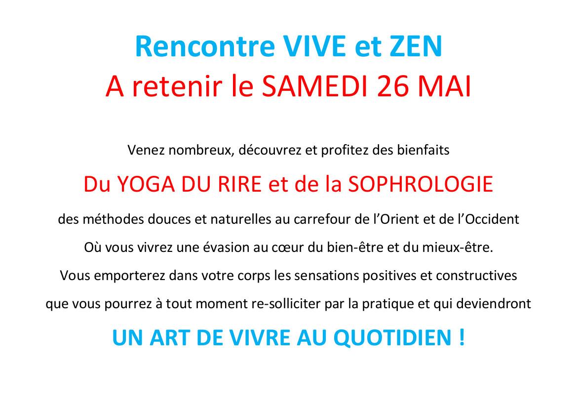Rencontre VIVE et ZEN sainghin en mélantois 260518