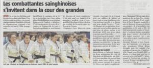 LA VOIX DU NORD SPORTS LILLE METROPOLE 010319