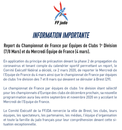 ANNULATION FEDERALE une